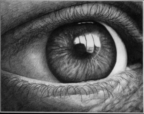 realistic eyes drawing